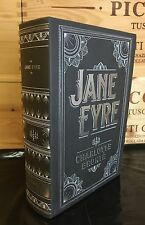 JANE EYRE by CHARLOTTE BRONTE Leatherbound Collectible NEW & OOP!