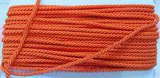 Orange Shiny Twist Cord Bedding Jewelry Making Supplies String Rope Twine Thread
