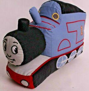 Pottery Barn Kids Thomas the Train decorative shaped pillow