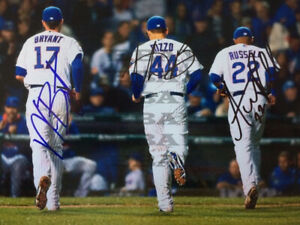 Kris Bryant   Chicago Cubs 8x10 autographed photo Reprint