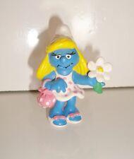 Figurine figur La SCHTROUMPFETTE MARGUERITTE  PEYO SHLEICH 1993