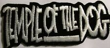TEMPLE OF THE DOG COLLECTABLE RARE VINTAGE PATCH EMBROIDED 90'S METAL PEARL JAM