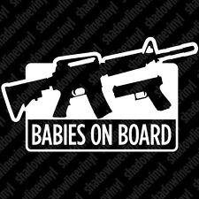 Pro Gun vinyl decal sticker 2nd Amendment Rights NRA Handgun AR15 9mm Molon Labe