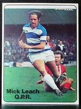 FOOTBALL PLAYER PICTURE MICK LEACH QUEENS PARK RANGERS SHOOT