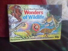 Brooke Bond Wonders of Wildlife Incomplete -3  Official Album Tea Cards