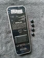 Back Plate for Dunlop Cry Baby 95Q Wah Pedal w/ Battery Compartment, Rubber Feet