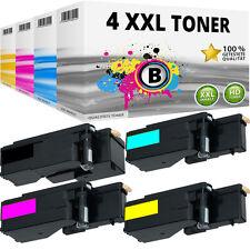 4x XL TONER für DELL E525 E525W H3M8P WN8M9 MWR7R VR3NV KARTUSCHE SET