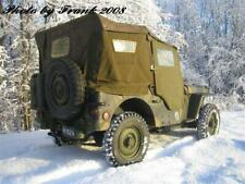 US ARMY PORTES ET COTES JEEP WILLYS MB FORD GPW D'ORIGINE