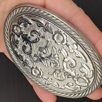 PLAIN BELT BUCKLE WESTERN COWBOY VINTAGE SILVER COPPER MEN WOMEN HIGH QUALITY