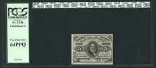 """New listing 1864-69 5 Cent Fractional Currency Fr-1238 Certified By Pcgs """"Choice New"""" 64"""