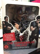 The Expendables Trilogy mit Büste Figur Blu-ray Limited Collectors Edition NEU