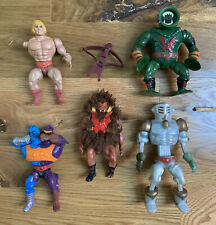 Lot Vintage MOTU Masters of the Universe He-Man Figures As Is Rare Lot 3 of 3