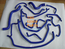 BLUE Silicone Radiator Hose kit FOR RENAULT 5 GT TURBO PHASE 1 1985-1987 1986