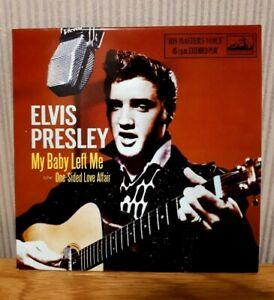 ELVIS PRESLEY - My Baby Left Me - Limited Edition HMV CD single + video track