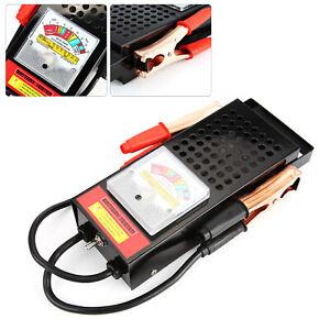 6V-12V 100Amp Car Van Auto Battery Load Tester Drop And Charging System Checker