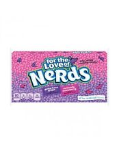 Wonka Grape & Strawberry Nerds Candy 141.7g X 3pkts Made in USA Theatre Boxes