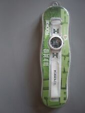 Game Time Collage Football Hawaii Warriors Rookie Watch White New in Case