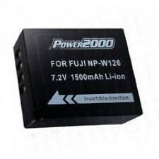 Power2000 NP-W126 Rechargeable Battery for Fuji X-Pro 1, X-E1, HS-30EXR Cameras