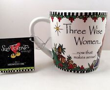 Midwest Three Wise Women Coffee Tea Cup Mug Suzy Toronto Feel The Tingle