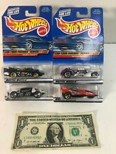 Set of 4 Hot Wheels Die-cast Cars - Car-Toon Friends Series No. 985 - 988