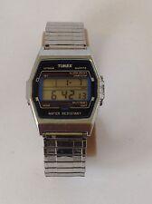 Timex Chrono  Quartz  LCD LED Quartz Collectible   Watch