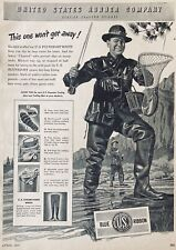 1947 AD(XH2)~U.S. RUBBER CO. BLUE RIBBON FLYWEIGHT BOOTS