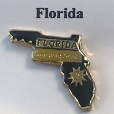 Lapel Pin - Florida- Sunshine State