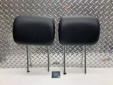 06-11 MERCEDES W251 R350 R500 FRONT OR 2ND ROW SEAT HEADREST HEAD RESTS BLACK OE