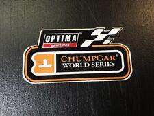 ChumpCar World Series Optima Batteries  Sticker Racecar Decal