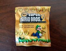 Nuevo Super Mario Bros 2 Estuche de carro de monedas de oro-Pre-orden Promo-Nuevo