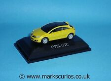 Schuco 1:72 - Opel GTC - Yellow - 55mm Long (Approx)