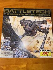 "Battletech The Crescent Hawk's Inception IBM  5 1/4"""