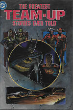 Greatest Team-Up Stories Ever Told HC signed Adams, Infantino, Williamson  + 4