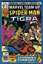 MARVEL TEAM-UP #67 --1978 Marvel (vg-fn) Spider-Man & Tigra