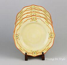 Set of 2 Salad Plates NEAR MINT Condition! Tuscan Garden Whole & Green Tuscan China u0026 Dinnerware | eBay