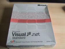 Rare Vintage Sealed Microsoft Visual J# .net Part of Visual Studio 2003