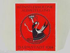 JUGENDSTIL Katalog ° Ausstellung Künstler-Kolonie Darmstadt 1914 ° F.W. Kleukens