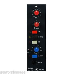 Ocean Audio 500 MicPre One Mic Pre NEW FULL WARRANTY