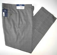 Polo Ralph Lauren Mens Dress Pants 38x30 Light Gray Windowpane Pleated NWT