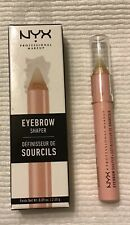 New In Box NYX Makeup EyeBrow Shaper Sealed Clear Wax Original    EBS01
