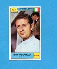 CAMPIONI SPORT 1969-70-PANINI-Figurina n.127- VACCARELLA -ITA-AUTOMOBILISMO-Rec