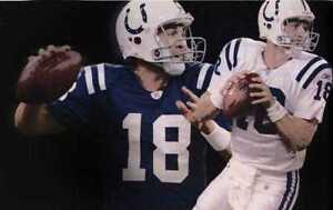 New! Great Peyton Manning Indianapolis Colts Art Print