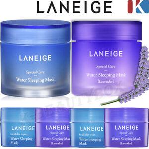 LANEIGE Water Sleeping Mask 2-Items Moisture Night Cream Overnight Skin Care NEW