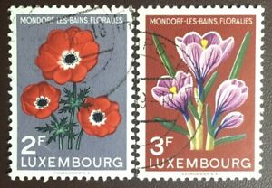 Luxembourg 1956 Flower Festival FU Never Hinged