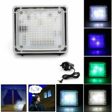 Silvercrest Led Dummy Fake Tv Light Home Security Simulator Thief Deterrent Us
