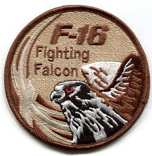 General Dynamics F-16 FIGHTING FALCON vel©®⚙ SWIRL INSIGNIA PATCH: Subdued UK