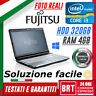 "*PC NOTEBOOK PORTATILE FUJITSU LIFEBOOK A531 15,6"" CPU i3 4GB RAM 320GB HDD TOP!"