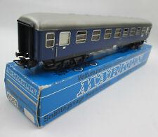 Marklin HO 4051 Express Coach with Interior Original Box Made in Western Germany