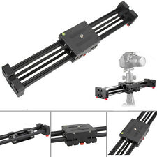 Aluminum  DSLR Camera Video Slider Dolly 50cm Track Rail Stabilizer 1M Sliding