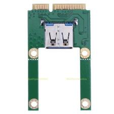 Mini PCI-E to USB 2.0 Adapter Expansion Card for Laptop suitable for USB Devices